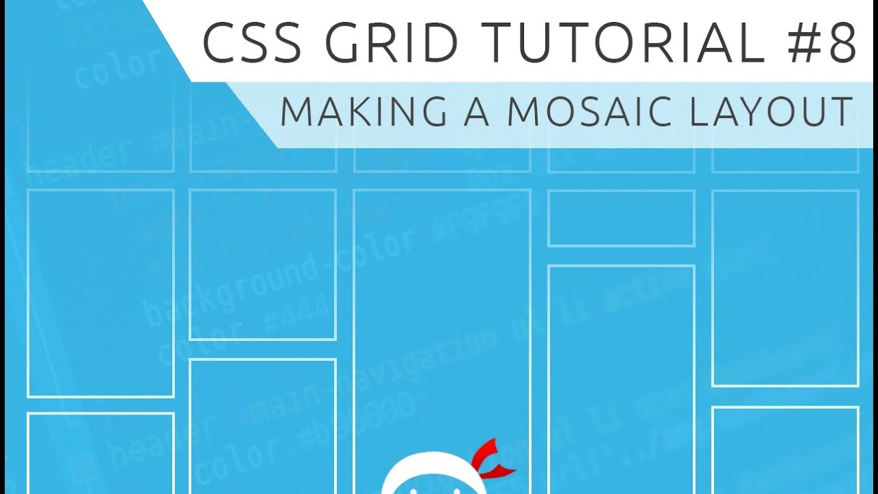 CSS Grid Tutorial #8 - Mosaic Layout