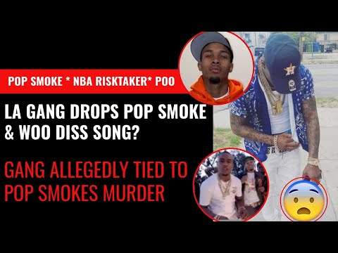 WHOA!! Gang that's Allegedly Responsible For Killing Pop Smoke Dropped a Pop Smoke & Woo Diss Song!!