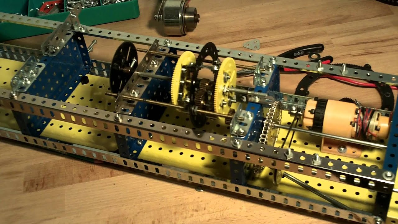 meccano train epicycloidal youtube. Black Bedroom Furniture Sets. Home Design Ideas