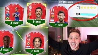 HIGHEST RATED FUTMAS FUT DRAFT IN THE WORLD!! - FIFA 18