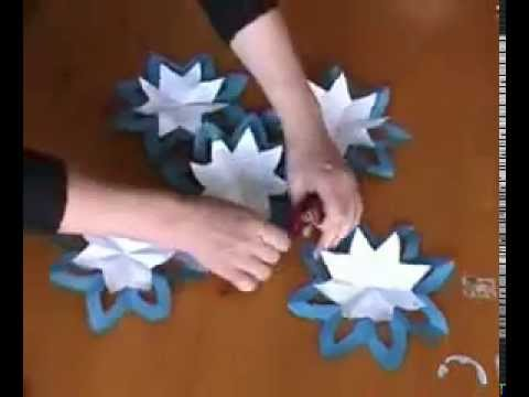 comment faire une fleur tres simple origami youtube. Black Bedroom Furniture Sets. Home Design Ideas