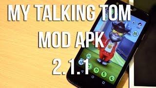 My Talking Tom Mod APK Version 2.1.1