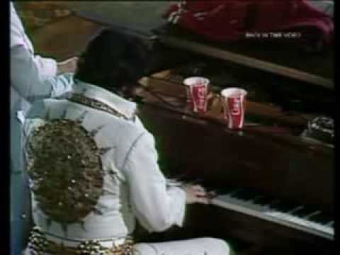 elvis presley - live 1977 - where no one stands alone - video