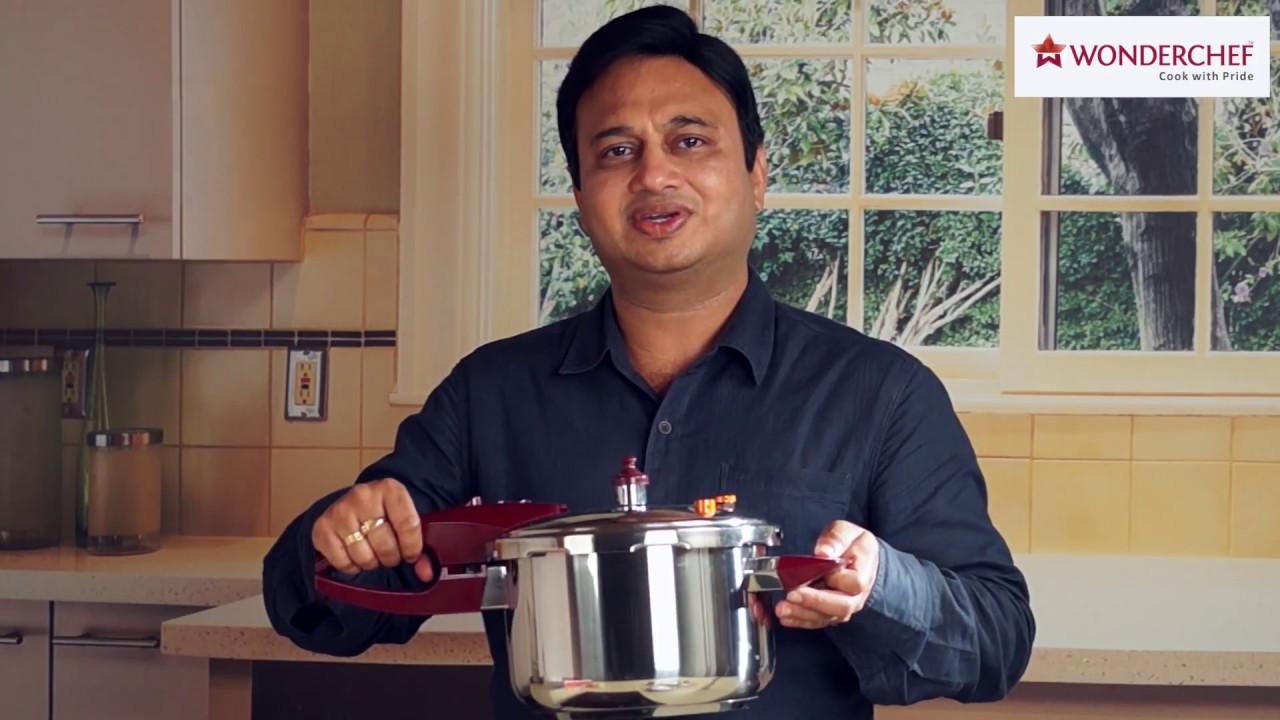 c2793493f Wonderchef Secura 5 Pressure Cooker Video Manual - YouTube