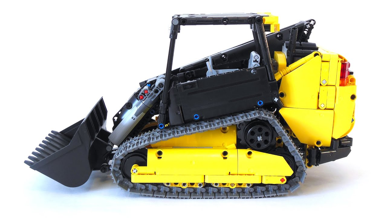 Lego Technic Jcb 320t Compact Track Loader Youtube
