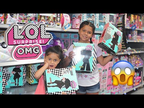 L.O.L. Surprise! O.M.G FASHION DOLLS TOY HUNT AT WALMART!