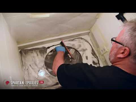 How to install metallic epoxy on a countertop DIY   SpartanEpoxies com