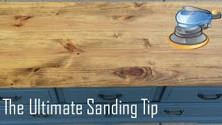 The Ultimate Sanding Hack for the Perfect Wood Finish