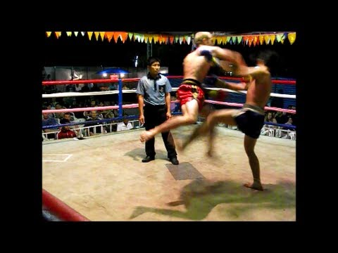 Sean Power 001 Lanna Muay Thai  Chiang Mai, Thailand
