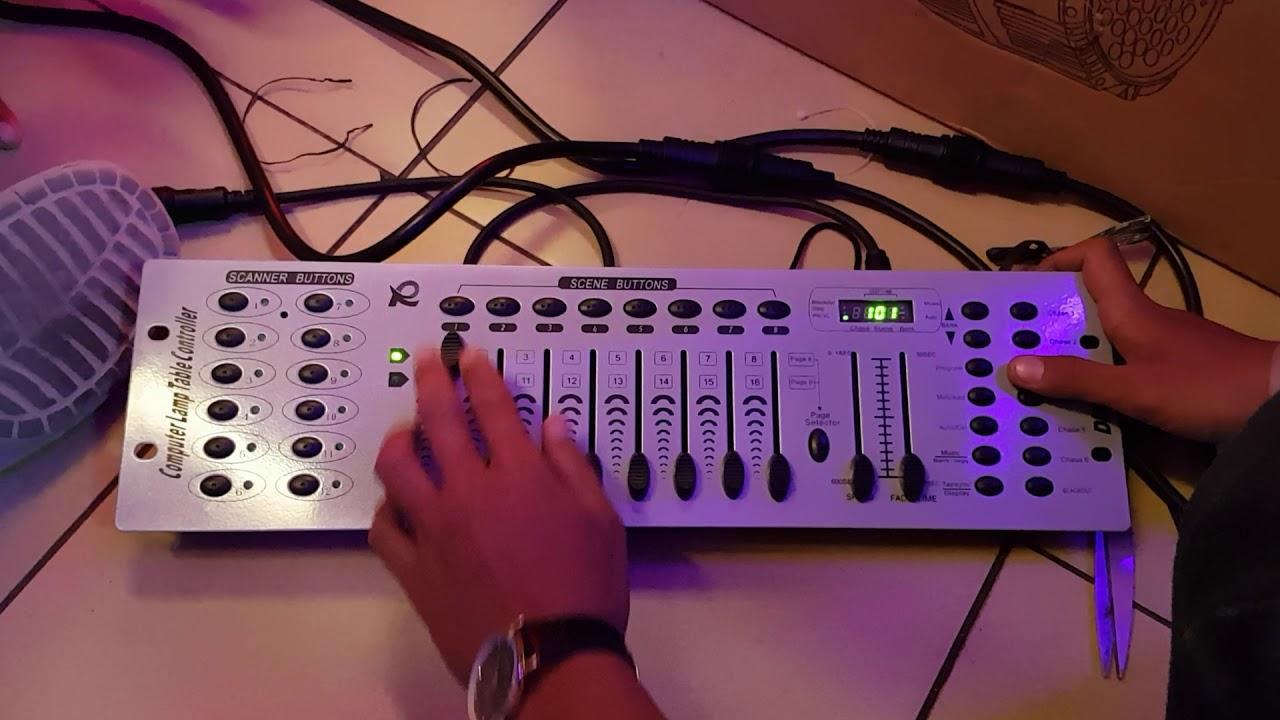 Controller Lighting Mixer DMX 512