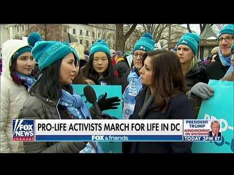 'We're Pro-People': Rachel Campos-Duffy Visits D.C. March for Life
