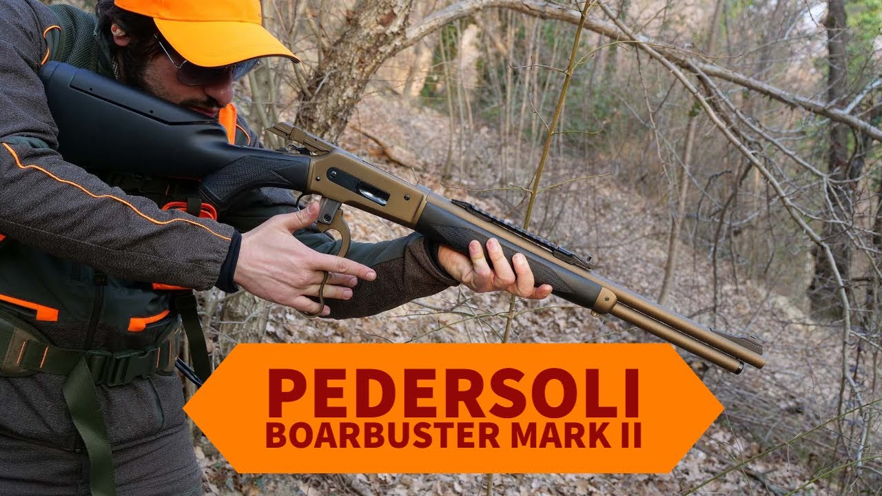 Boar hunting with Pedersoli Mark II rifle - all4shooters