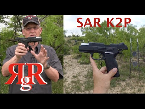 SAR K2P On the Range Review / Sarsilmaz CZ-75 Variant