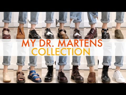 MY DR. MARTENS COLLECTION (2018)