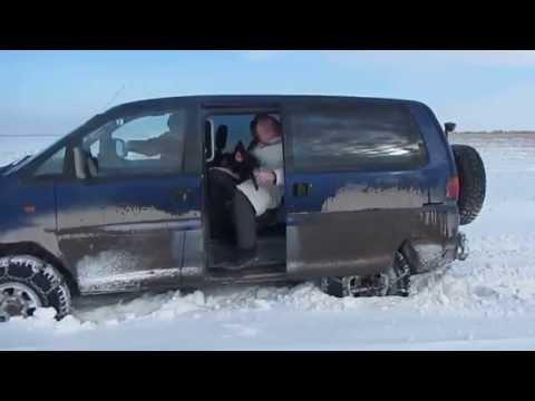 Mitsubishi Space Gear делика Delica(Спэйс гир) L400 4x4 газовое оборудование цепи на колесах снег