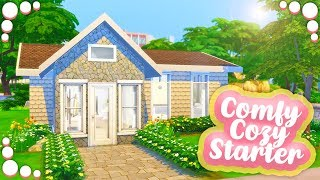 COMFY COZY STARTER🏡💛 // THE SIMS 4 | SPEED BUILD