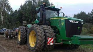 Agregatowanie oraz Siew 🌏 NajWiększy Traktor 🌏 John Deere 9560 R