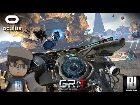 WORLDS 1ST 'PLASMA BIKE' IN VR! // Ground Runner: Trials Gameplay // Oculus + Touch // GTX 1060
