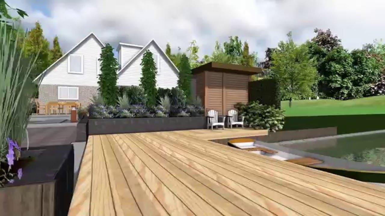 3d film tuinontwerp in omgeving sneek youtube - Tuinontwerp ...