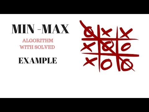 Min Max algorithm with sovle example in hindi | Artificial Intelligence series