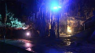 カルスト台地が広がる岡山県新見市には大小200の鍾乳洞が点在すると...