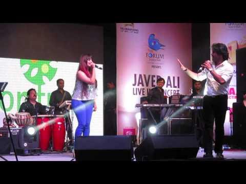 AMIKA SHAIL   LIVE with JAVED ALI   Hyderabad   Galat Baat Hai   Forum Sujana Mall