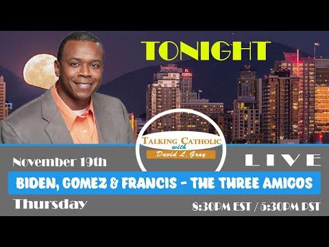 Biden, Gomez & Francis - The Three Amigos