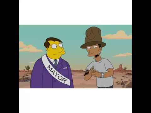Pharrell Williams In The Simpson