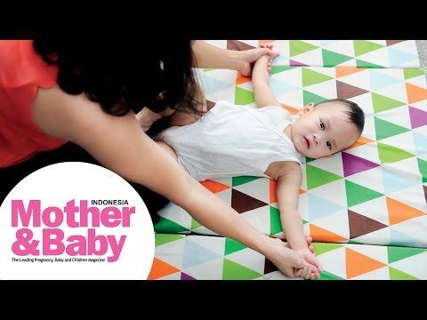 Senam untuk Bayi 1-12 Bulan