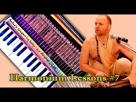 Learn Easy tune of Aindra Prabhu. Harmonium Lessons #7. Bilawal Raga
