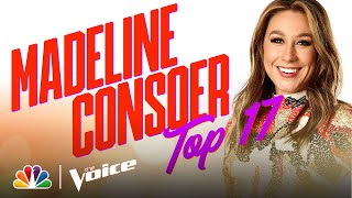 "Madeline Consoer Sings Lady A's ""What If I Never Get Over You"" - The Voice Live Top 17 Performances"