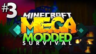 Minecraft MEGA Modded Survival #3 | THE SPIDER TREE! - Minecraft Mod Pack