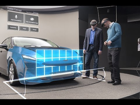Microsoft HoloLens: Partner Spotlight with Ford