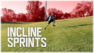 How to Run Faster w/ Incline Sprints | Speed Training
