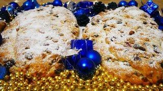Рецепт ШТОЛЛЕНА рождественская немецкая выпечка