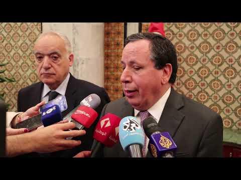 تصريح لوزير الشؤون الخارجية ومبعوث الأمم المتحدة إلى ليبيا
