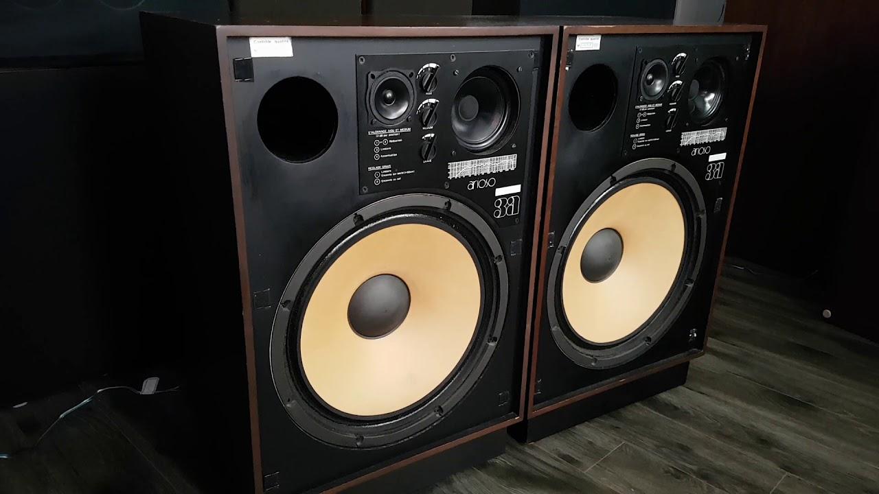 Speaker arioso monitor 3A test peak 100 WATTS RMS vintage audio crazy  Eugène - YouTube