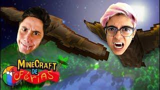 VIRAMOS MORCEGOS! (Minecraft de Férias) #9