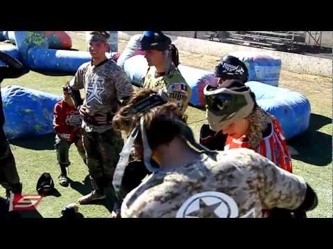 2013 Houston Heat First Paintball Practice - Road to PSP Dallas Open