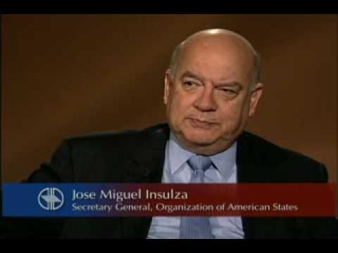 Encuentros: Jose Miguel Insulza and Jeffrey Davidow