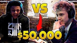 NINJA VS MYTH LAS VEGAS $50,000 TOURNAMENT! Daily Fortnite Ep.4 (Fortnite Battle Royale Moments)