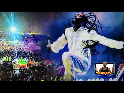 Buju Banton Long walk to freedom live clips and commentary