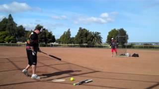 Miken 4 The Fallen Triad USSSA Softball Bat - 17 Home Runs - Adam Peterson thumbnail