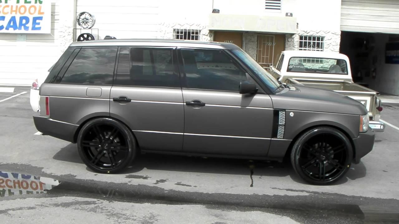 24 Quot Inch Gianelle Bologna Rims 2007 Range Rover Luxury