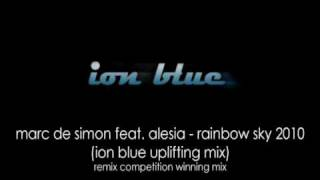 Marc de Simon feat. Alesia - Rainbow Sky 2010 (Ion Blue Uplifting Mix)