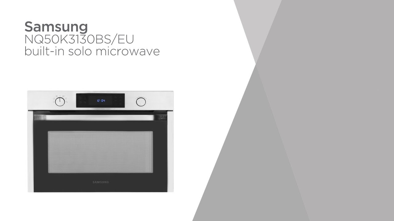 Samsung Nq50k3130bs Eu Built In Microwave Stainless Steel Product Overview Currys Pc World