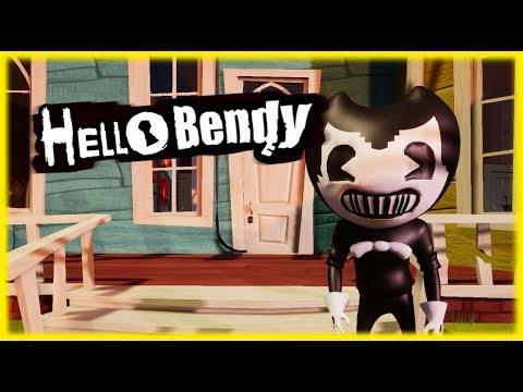 HELLO BENDY   Hello Neighbor Mod