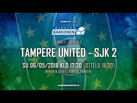 TamU - SJK 2 / Kakkonen / 6.5.2018 / klo 18:30