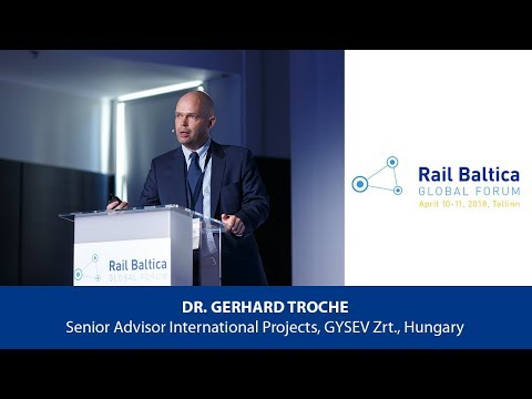 Dr. G. Troche: Managing infrastructure for cross-border rail freight | RBGF 2018