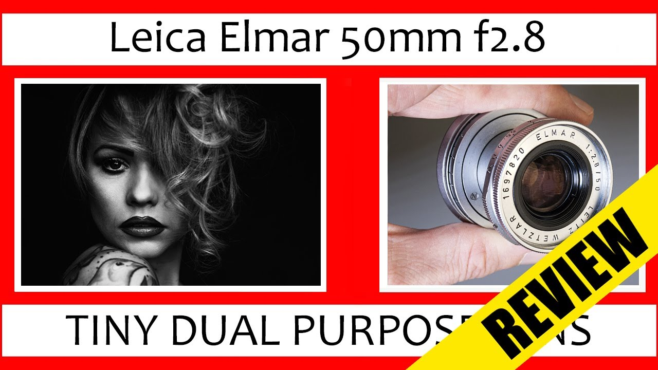 🔴 #16 - Tiny Dual Purpose Leica 50mm | Leica Elmar 50mm f2.8 Review (Collapsible + SOOKY-M*)